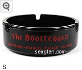 the Bootlegger, Cocktails - Maria's Italian Cuisine - Red imprint Glass Ashtray