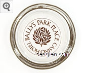 Bally's Park Place Casino Hotel, Atlantic City - Brown imprint Glass Ashtray