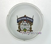 Treasure Island, at the Mirage - Multicolor imprint Porcelain Ashtray