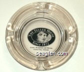 The Teller House, Since 1872, Casino, Restaurants and Museum, Central City, Colorado - Black imprint Glass Ashtray